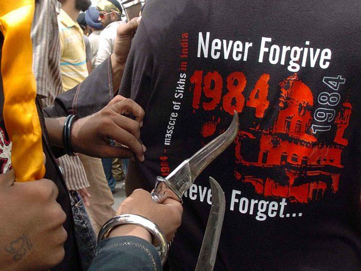 Sikh agitation in Mumbai