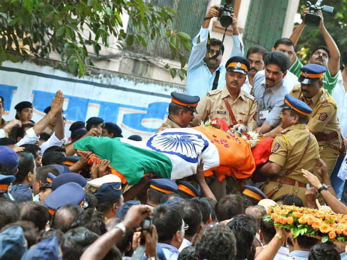 Balasaheb Funeral